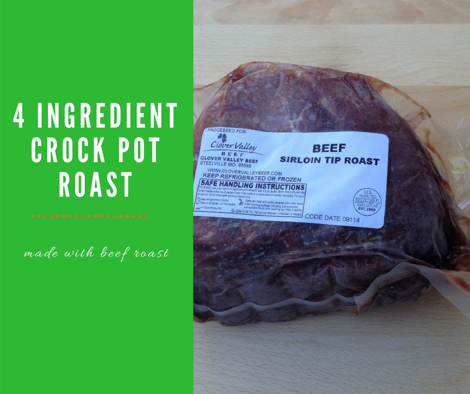 how to cook inside round roast in crock pot