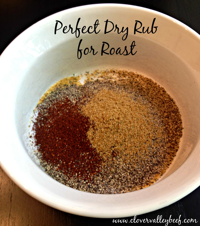 Dry Rub Recipe for Roast - Clover