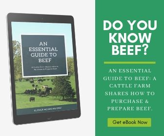 Clover Meadows Beef - An Essential Guide to Beef Ad - Clover Meadows Beef Grass Fed beef St Louis STL - Do you know beef