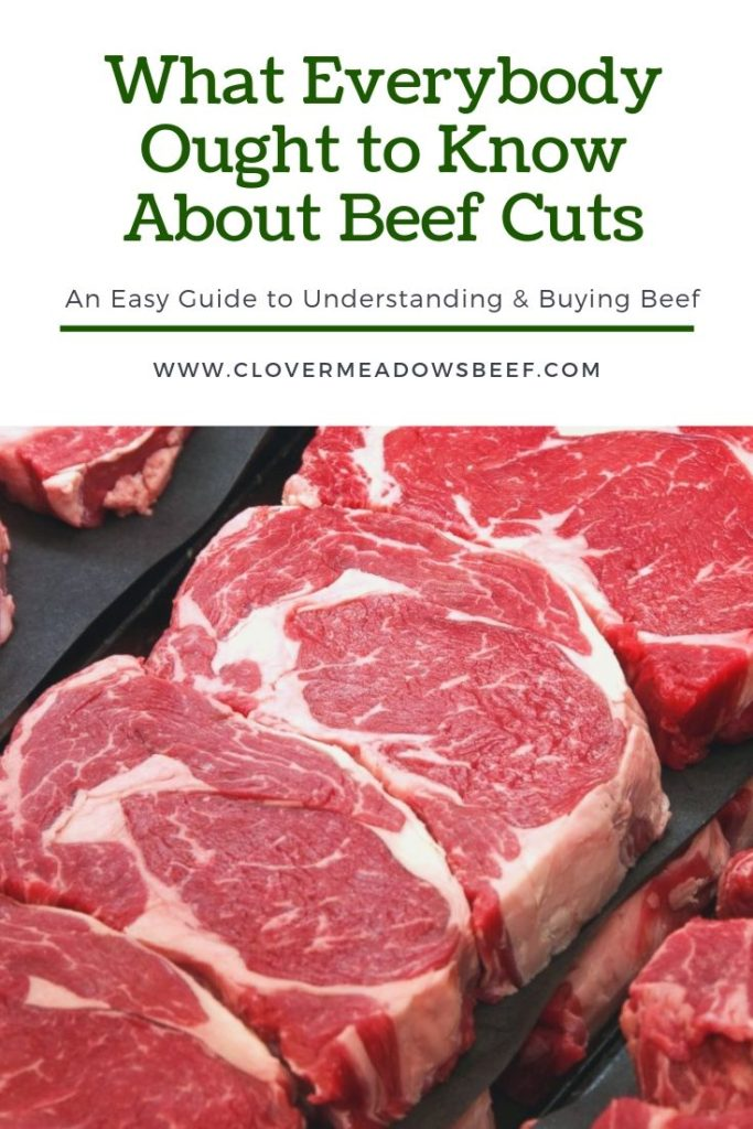 Understanding Beef Cuts Clover Meadows Beef Grass Fed Beef St. Louis