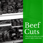 Cuts of Beef: What Cuts Do You Get With a Quarter and Half Beef