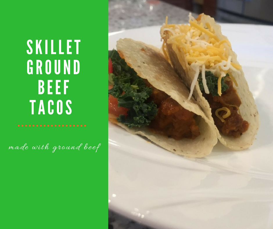 Skillet Ground Beef Taco Recipe - Clover Meadows Beef