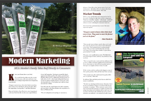 Clover Meadows Beef - Modern Marketing