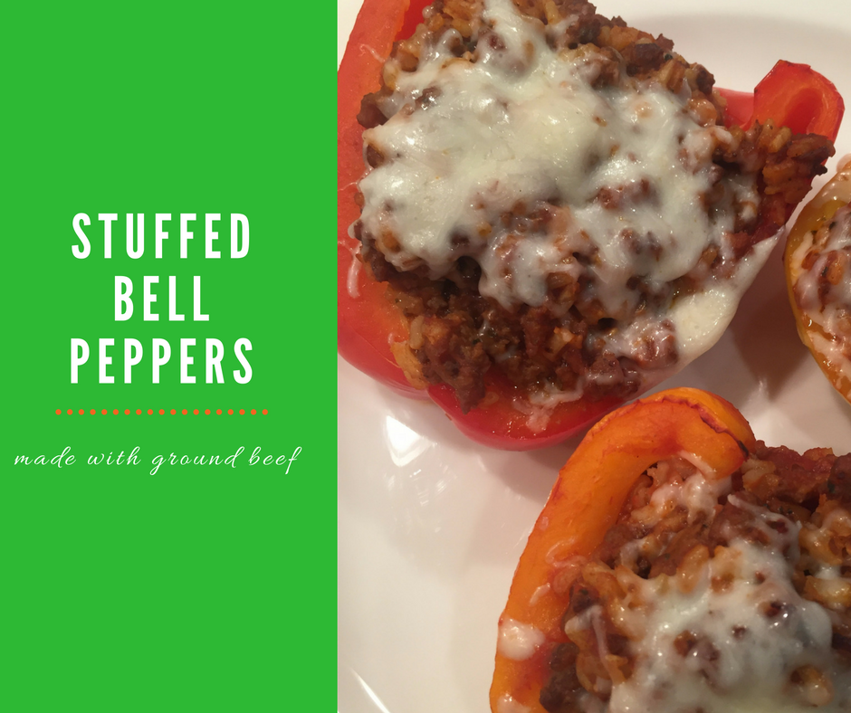 Stuff To Make With Ground Beef: Stuffed Bell Pepper Recipe With Ground Beef