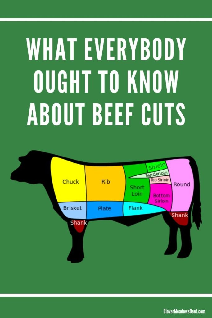 What everybody ought to know about beef cuts - Clover Meadows Beef Grass Fed Beef St Louis Missouri - STL
