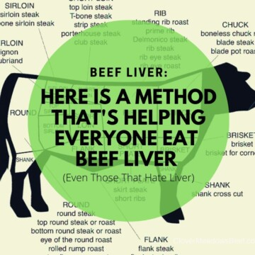 Beef Liver - Clover Meadows Beef Grass Fed Beef St Louis - Beef Liver Cubes
