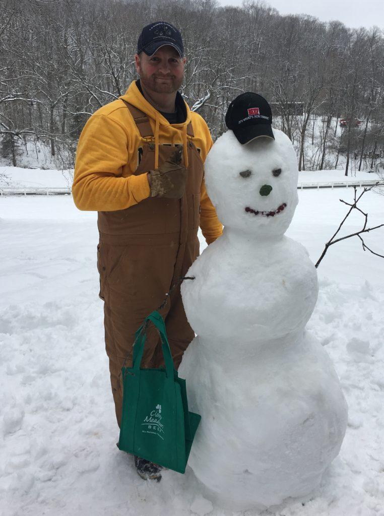 Snowman - Clover Meadows Beef Grass Fed Beef St Louis