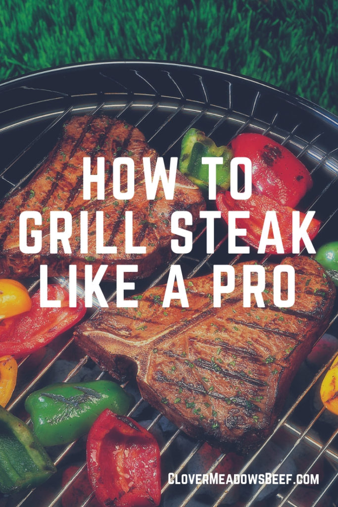 How to grill steak like a pro. Steak on a grill. Grass Fed Beef St. Louis Missouri