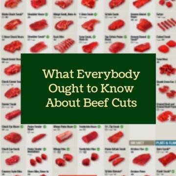 Beef Cuts | Clover Meadows Beef