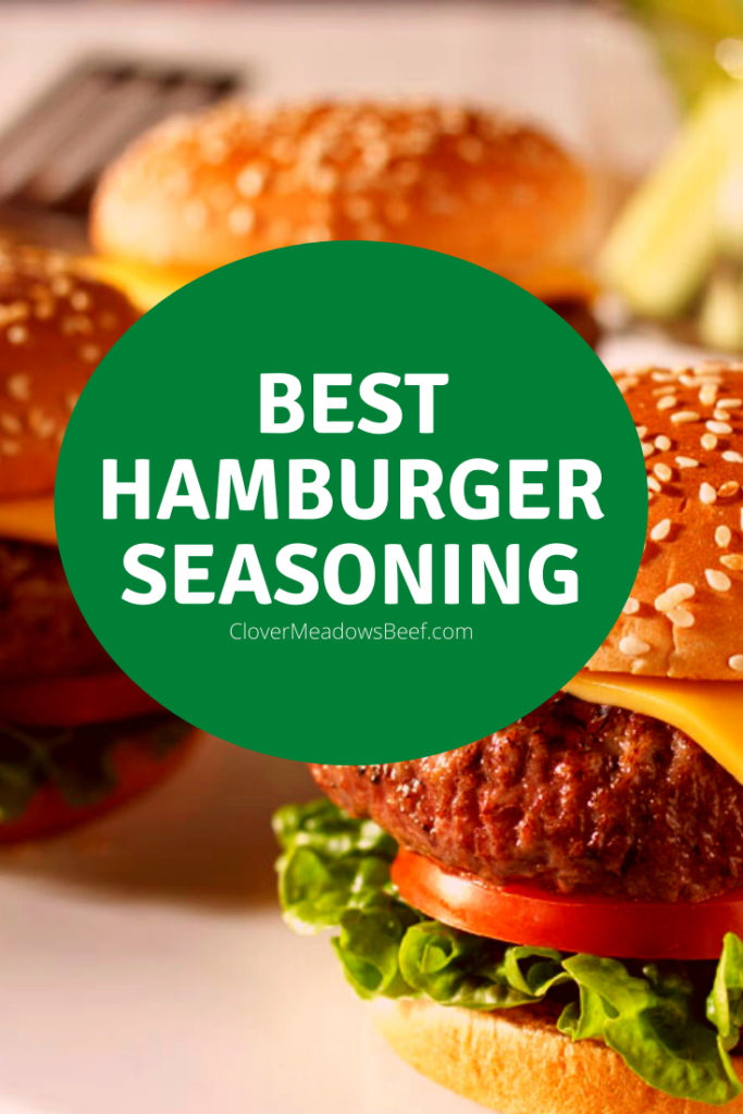 Best Hamburger Seasoning Clover Meadows Beef