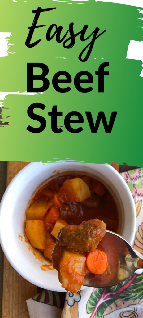 Easy Beef Stew - Clover Meadows Beef Grass Fed Beef