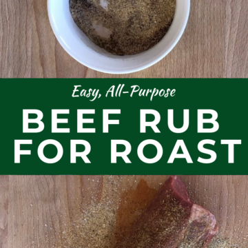 Dry rub for beef
