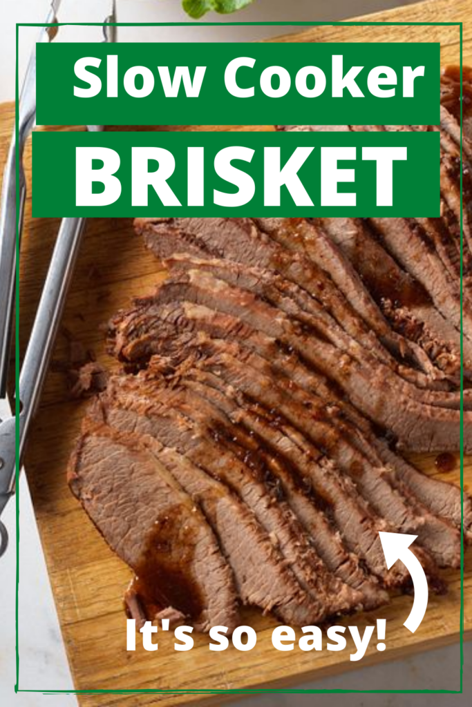 Brisket Slow Cooker Pin - Clover Meadows Beef Grass Fed Beef